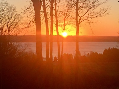 Amazing Sunrise on Torch Lake