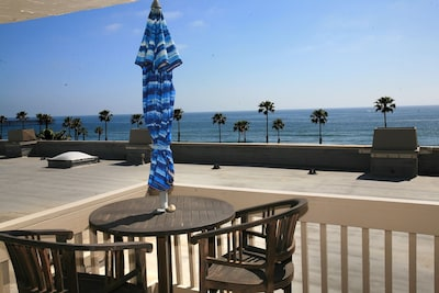 Beautiful view from master suite balcony