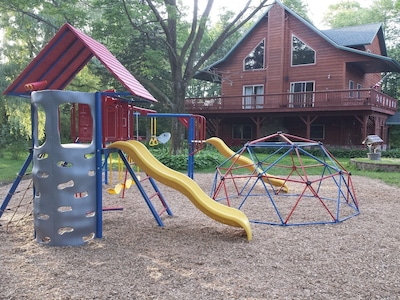 Let your kids have fun on this awesome playset!