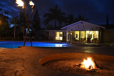 Want tiki torches for the hawaiian experience? Owners happy to tell you how.