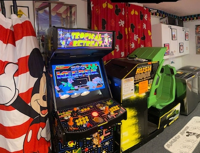 Game Room with all games on FREE Play