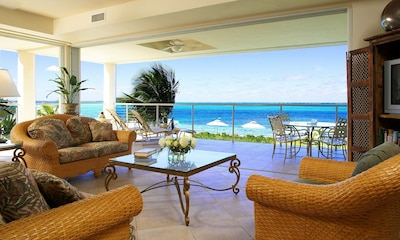 Living Room view of Grace Bay