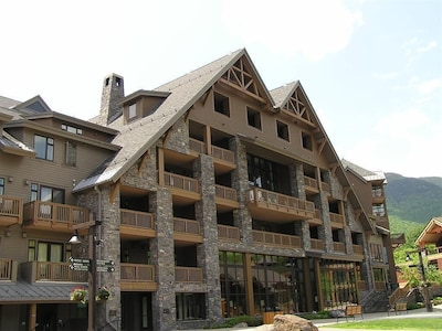 Stowe Mountain Lodge, great stay! Summer is just as enjoyable as Winter.