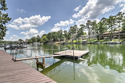 Fall in love with lakeside living as you stay at ths vacation rental condo!