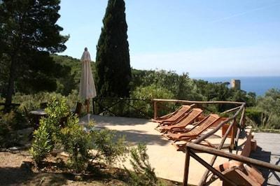 Spiaggia Lunga, Monte Argentario, Tuscany, Italy