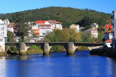 A Ponte do Porto, Camariñas, Galice, Espagne