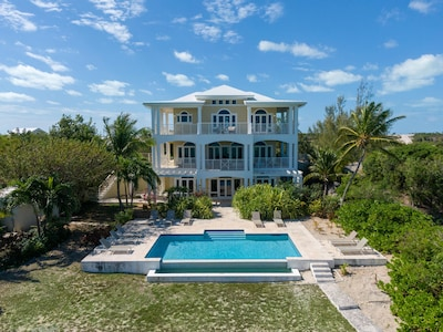 Villa Reverie from the sea