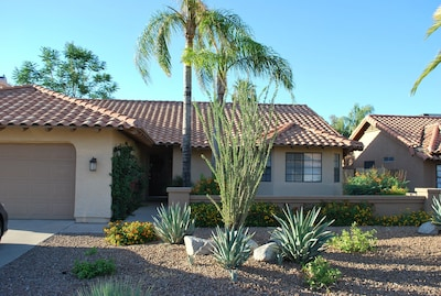 This luxury 3 bedroom/ 2 bath home is ideally located in Scottsdale's Kierland.