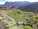 Deep nestled valley of ranch