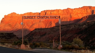Sunset at the Sunset Canyon Ranch