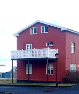 House and balcony