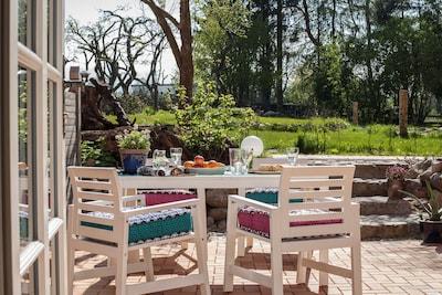 58 m² Terrasse; Landlust pur