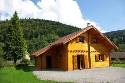 Skigebiet La Bresse Lispach, La Bresse, Vosges Département, Frankreich