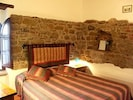 Old Mill cottage of Castello di Gaiche: bedroom 1