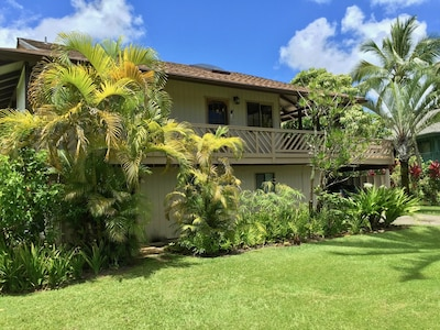 Aloha House looking from our Ohana Mauka home
