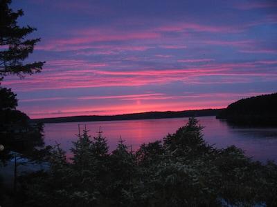 Spectacular sunrises, we face Southeast.