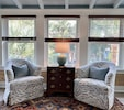New sunporch perfect spot to relax with your morning coffee