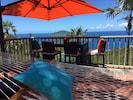 Enjoy the view Tutu Bay while listening to the waves crashing below