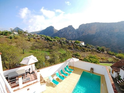Luxury Villa with private pool in Montejaque, Ronda, Andalucia, Spain