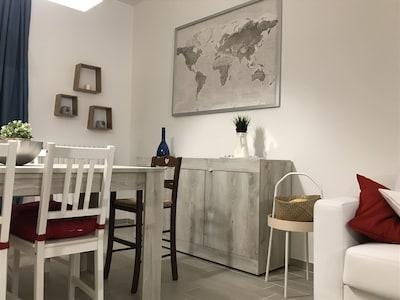 Appartamento 150 Mt Dal Mare Con Terrazzo E Giardino Privato Villa Rosa