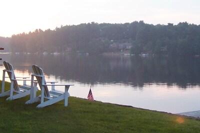Dawn on Lake Lashaway