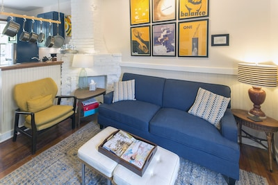 Enjoy the comfortable living room