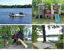 Add to the fun of your vacation with our swim raft,  playsets, and hammock.