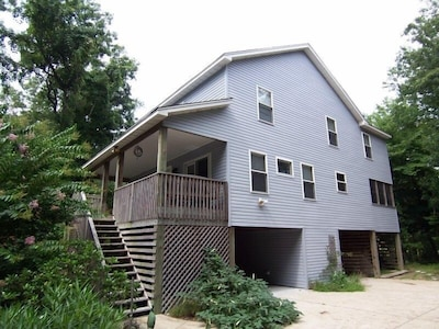 4 bedroom  house on lovely wooded lot