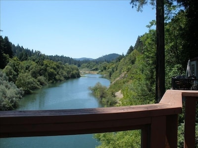 Looking downriver