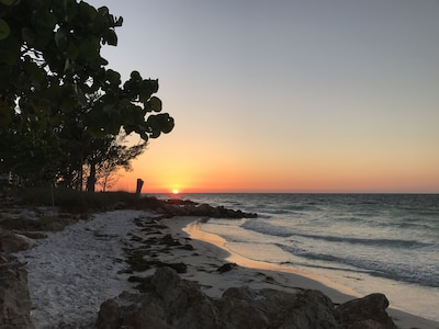 Glorious sunsets on Bean Point!