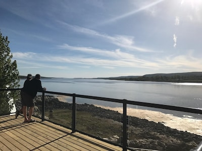 Watch the tides from the best location in town!