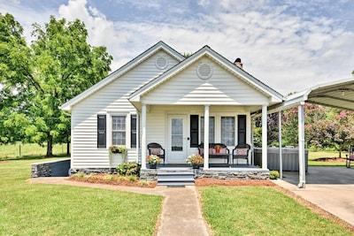 Your idyllic North Carolina vacation awaits at this unique 4-person farmhouse.