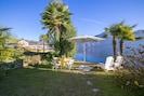 Enjoy sunbathing, swimming, al fresco dining
