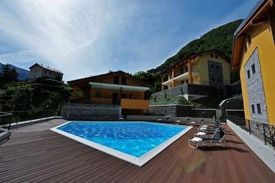 Residenz mit einem Pool