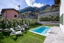 Privaten Garten mit eigenem Pool
