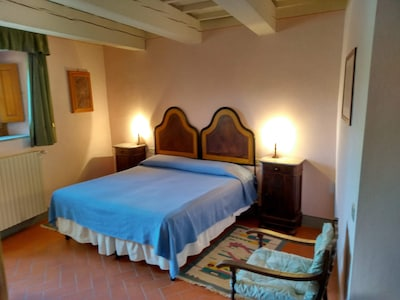 Castello Di Villanova Della Arno, Barberino di Mugello, Toskana, Italien