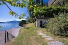 Baden im See direkt beim Haus