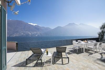Spacious terrace for al-fresco dinners