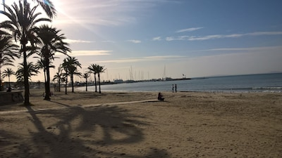 Op een steenworp van dit schitterende strand
