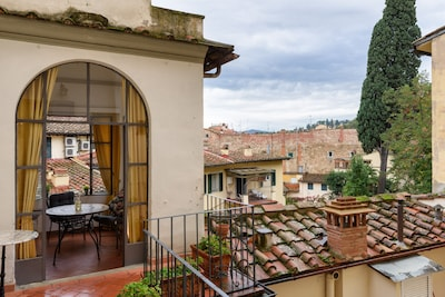 Piazza Santo Spirito, Florence, Tuscany, Italy