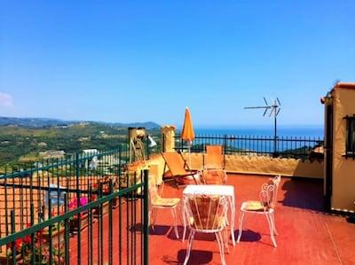 Costarainera, Ligurië, Italië