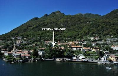 Luftbild von Laglio