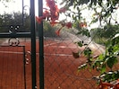 PRIVATE TENNIS PLATZ
