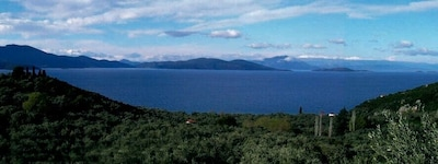 Das Panorama vom Objekt