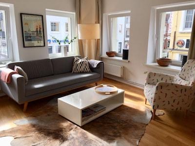 Eingerichtet im hochwertigen skandinavischen Wohndesign von habitat