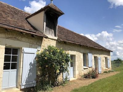 Fontgombault, Indre Département, Frankreich