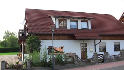Walldorf, Meiningen, Thüringen, Duitsland
