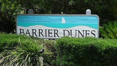 entrance to Barrier Dunes