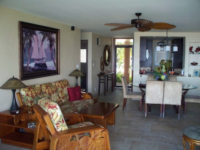 Large and comfortable living area