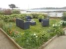 salon de jardin du jardin clos accès direct plage